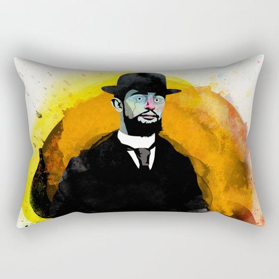Toulouse Lautrec Rectangular Pillow