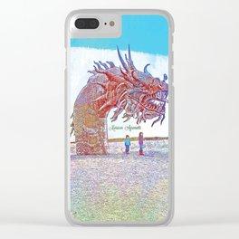 Anza - Borrego Desert Sea Dragon Clear iPhone Case
