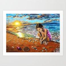 Treasure Hunter Art Print