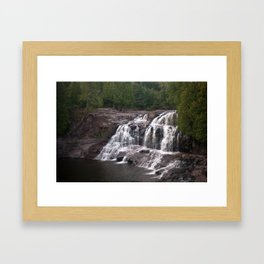 Upper Falls Framed Art Print