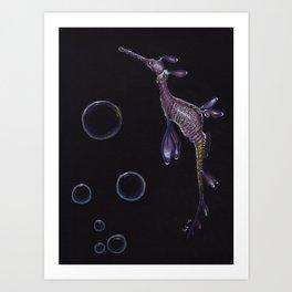 Dragon of the Sea Art Print