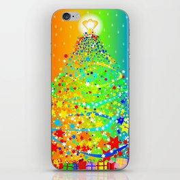 Ribbon Christmas Tree iPhone Skin