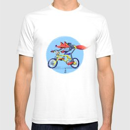 fox bike T-shirt