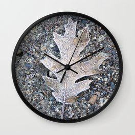 California Christmastime Wall Clock