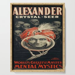 cartello alexander crystal • seer. circa 1915 Serving Tray