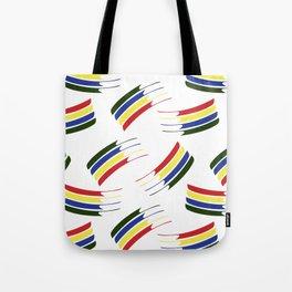 Postmodern Primary Splash Tote Bag