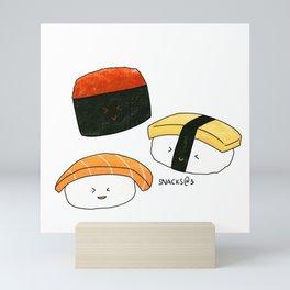 Sushi Party Time Mini Art Print