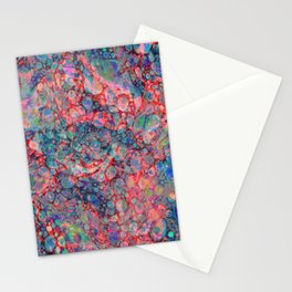 Opalescent Marble Stationery Cards