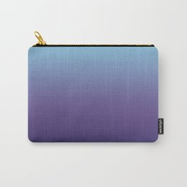 Ombre Blue Ultra Violet Gradient Pattern Carry-All Pouch