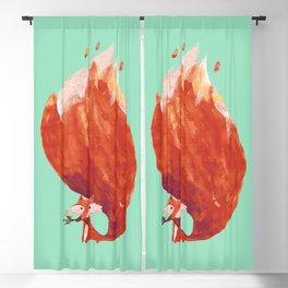 Kitsune (Fox of fire) Blackout Curtain