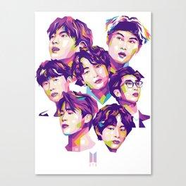 COLOR OF BTS Canvas Print