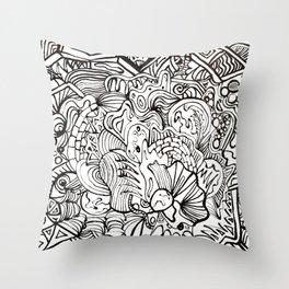 organiconnect Throw Pillow