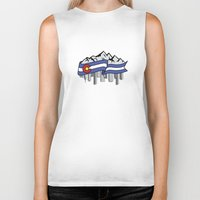 denver Biker Tanks featuring Denver, Colorado by HighTribe