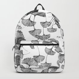 ginko biloba pattern Backpack