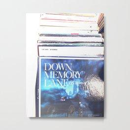 Down Memory Lane  Metal Print