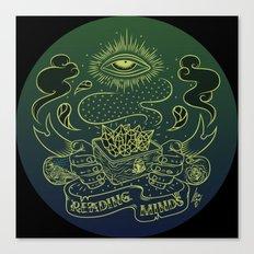 Reading minds / Mielofon Canvas Print