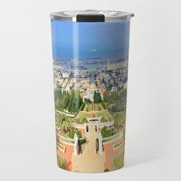 Bahai Gardens Travel Mug