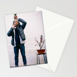 Parisian Mugshots - Mister Pineapple (Gueules de Parisiens) Stationery Cards