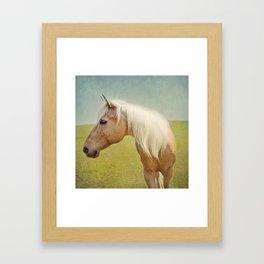 JT Profile Framed Art Print