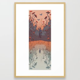 TES: Shivering Isles Framed Art Print