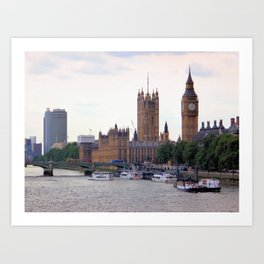 Big Ben, London II Art Print