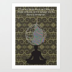 The Doors of Perception Art Print