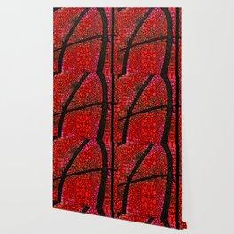 AH - Red Stone Rock'd Art by Sharon Cummings Wallpaper