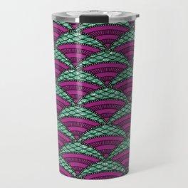 Afro Ankara Wax Print 14 Travel Mug