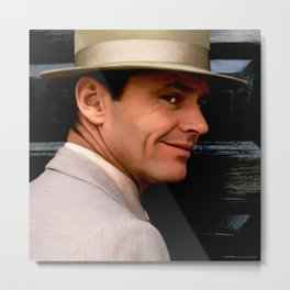 Jack Nicholson @ China Town Metal Print