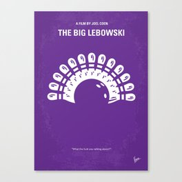 No010 My Big Lebowski MMP Canvas Print