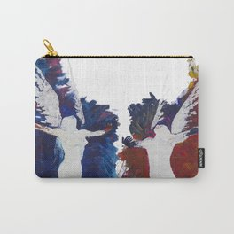 Fly With Me Duo Only Print Edition Carry-All Pouch