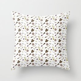 the Philosopher's stone Throw Pillow