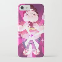 steven universe iPhone & iPod Cases featuring Steven Universe by Doki Rosi