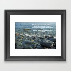 Mysteries of the Sea Framed Art Print