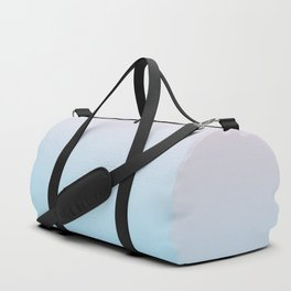 HEAD IN THE CLOUDS - Minimal Plain Soft Mood Color Blend Prints Duffle Bag