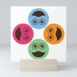 Stay Happy Together Mini Art Print