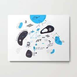 My joyful breakup Metal Print