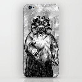 toxic bear  iPhone Skin