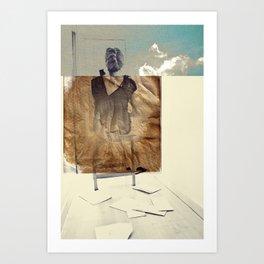 Pasado Art Print