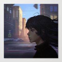 wind Canvas Prints featuring Wind by Ilya Kuvshinov