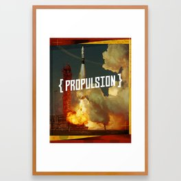 Propulsion Framed Art Print