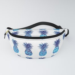 Blue pineapples Fanny Pack