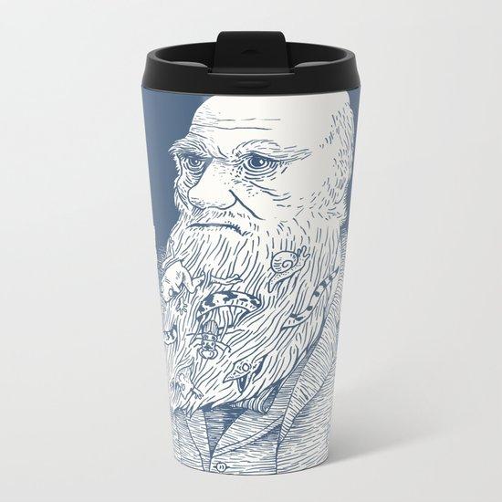 By Darwin's Beard Metal Travel Mug