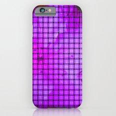 Purple flower pattern Slim Case iPhone 6s