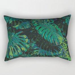 Monstera Dreams Rectangular Pillow