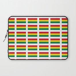 flag of bolivia 2 -bolivian,boliviano,bolivian,Sucre, La Paz. Laptop Sleeve