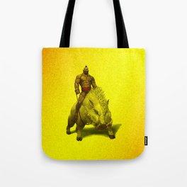 hog rider Tote Bag