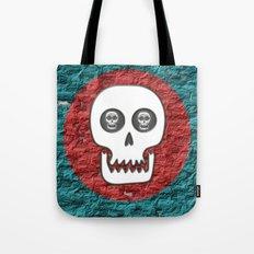 Skull Poppy Tote Bag