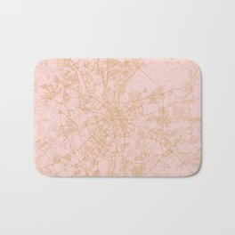 Moscow map Bath Mat