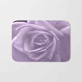 A Beautiful Rose in Lilac Bath Mat